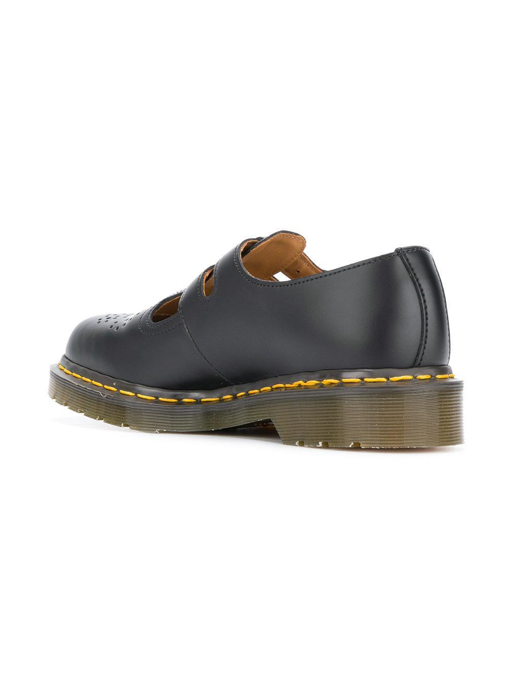 ea971c736b316 Comme des Garçons Dr. Martens Double Strap Brogues in Black for Men ...