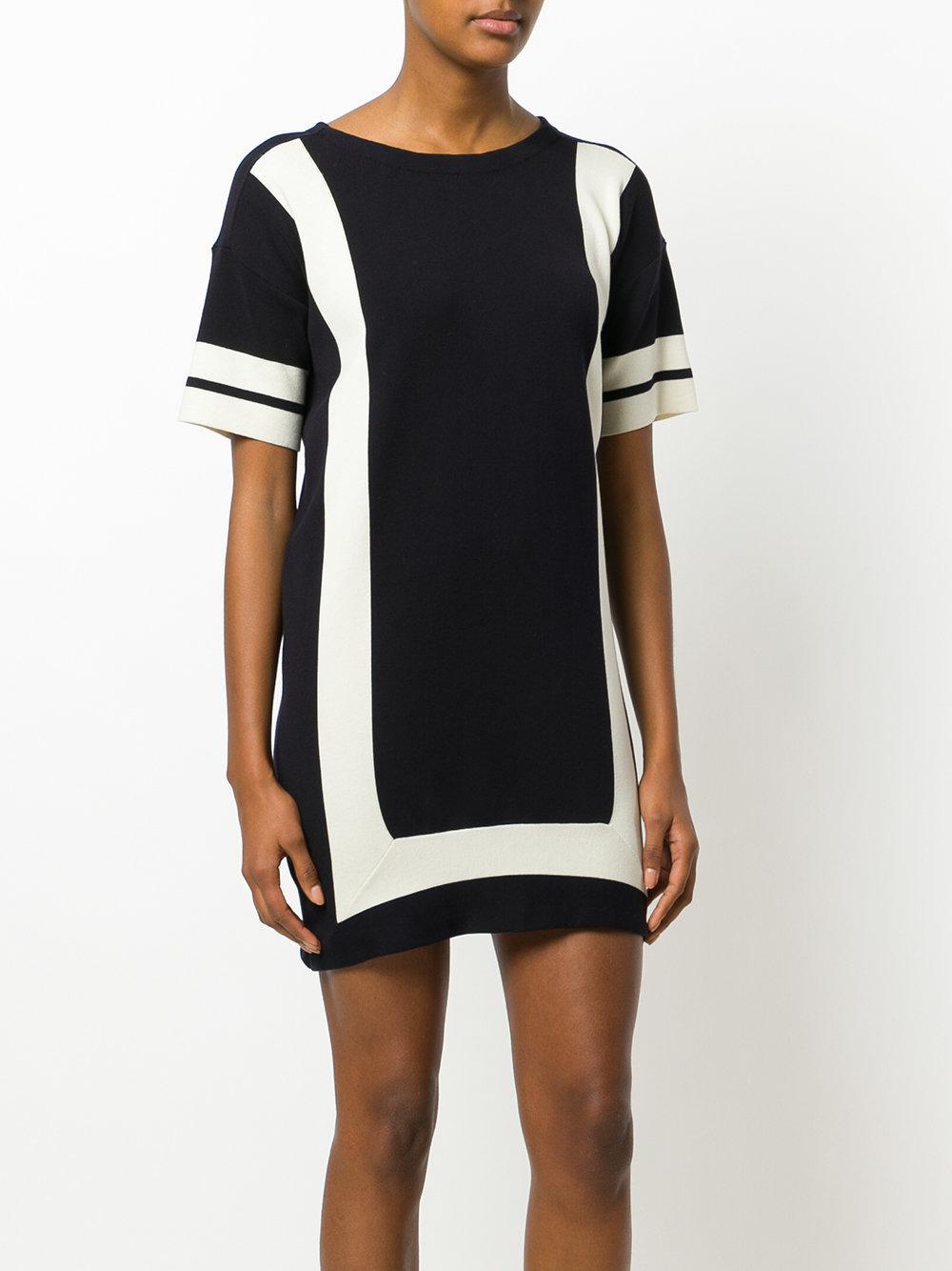 indigo panelled dress - Blue Chinti and Parker sbO4YfFsa