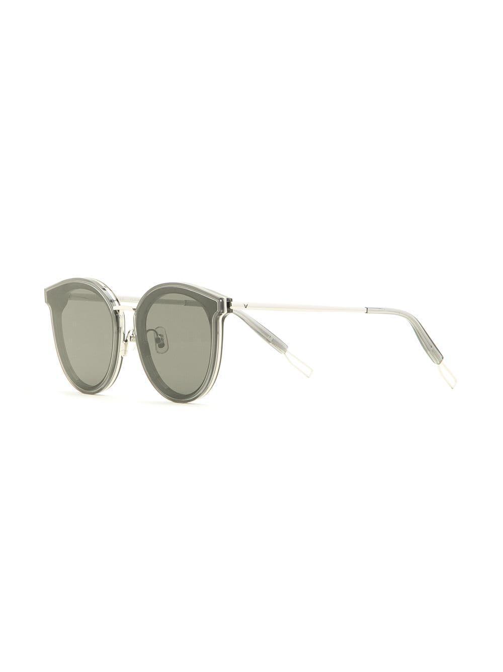 5a3b49f226f Gentle Monster Merlynn Round-frame Sunglasses in Gray - Lyst