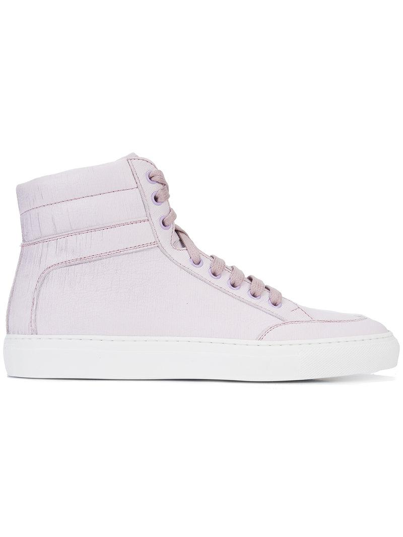 Cheap Professional Affordable Sale Online Primo Rosa hi-top sneakers - Pink & Purple KOIO Sale With Paypal Free Shipping Footaction I6jMte22u