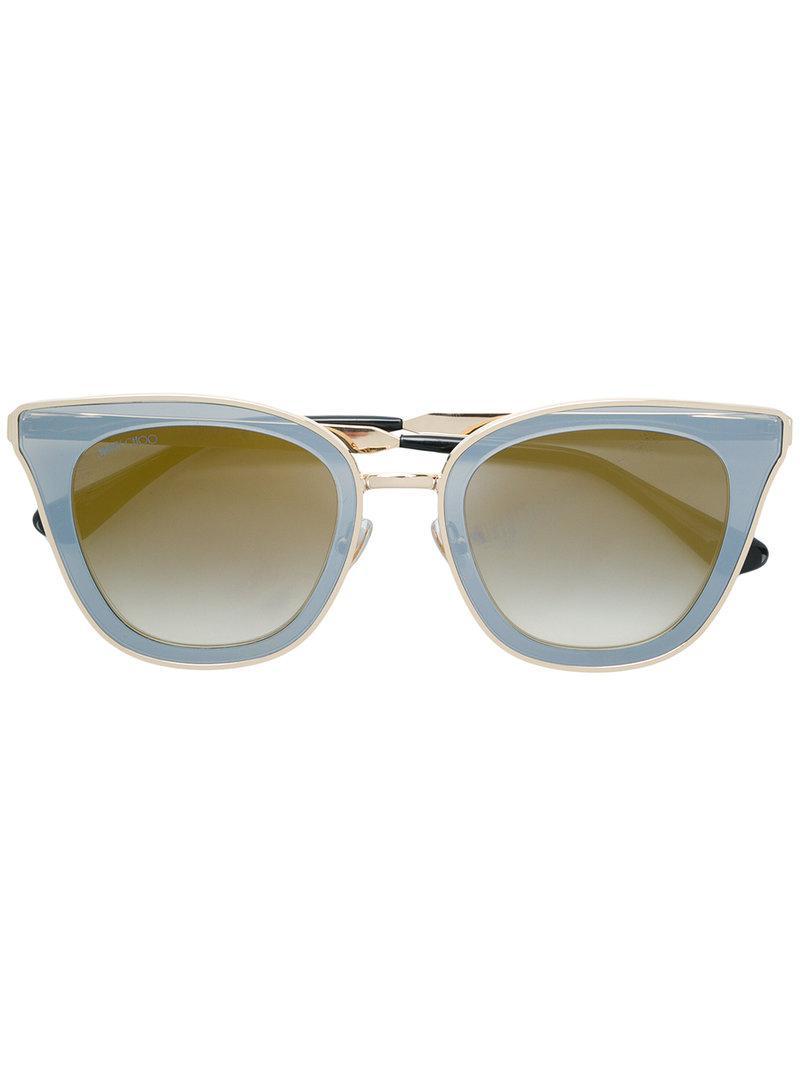 ed9ff20204 Gafas de sol Lory 49 Jimmy Choo de color Gris - Lyst