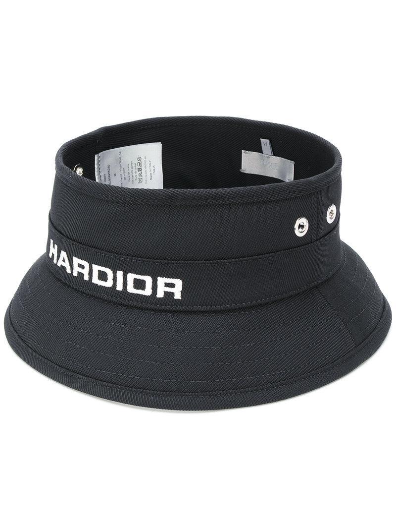 Lyst - Dior Homme Hardior Bucket Hat in Black for Men da566df0101