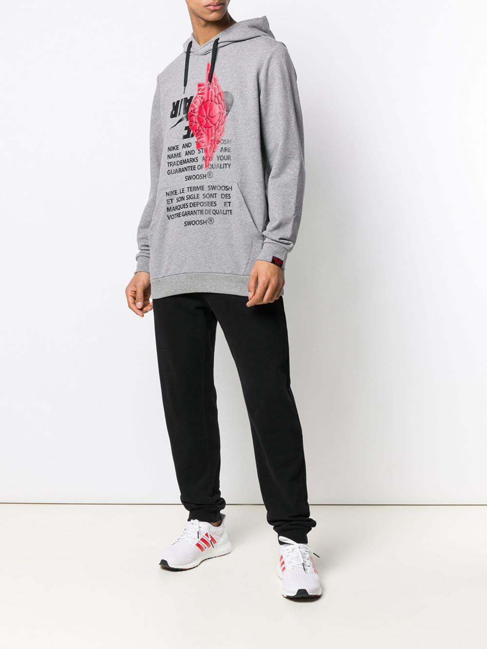 57d4829ea5d1 Lyst - Nike Jordan Jumpman Hoodie in Gray for Men