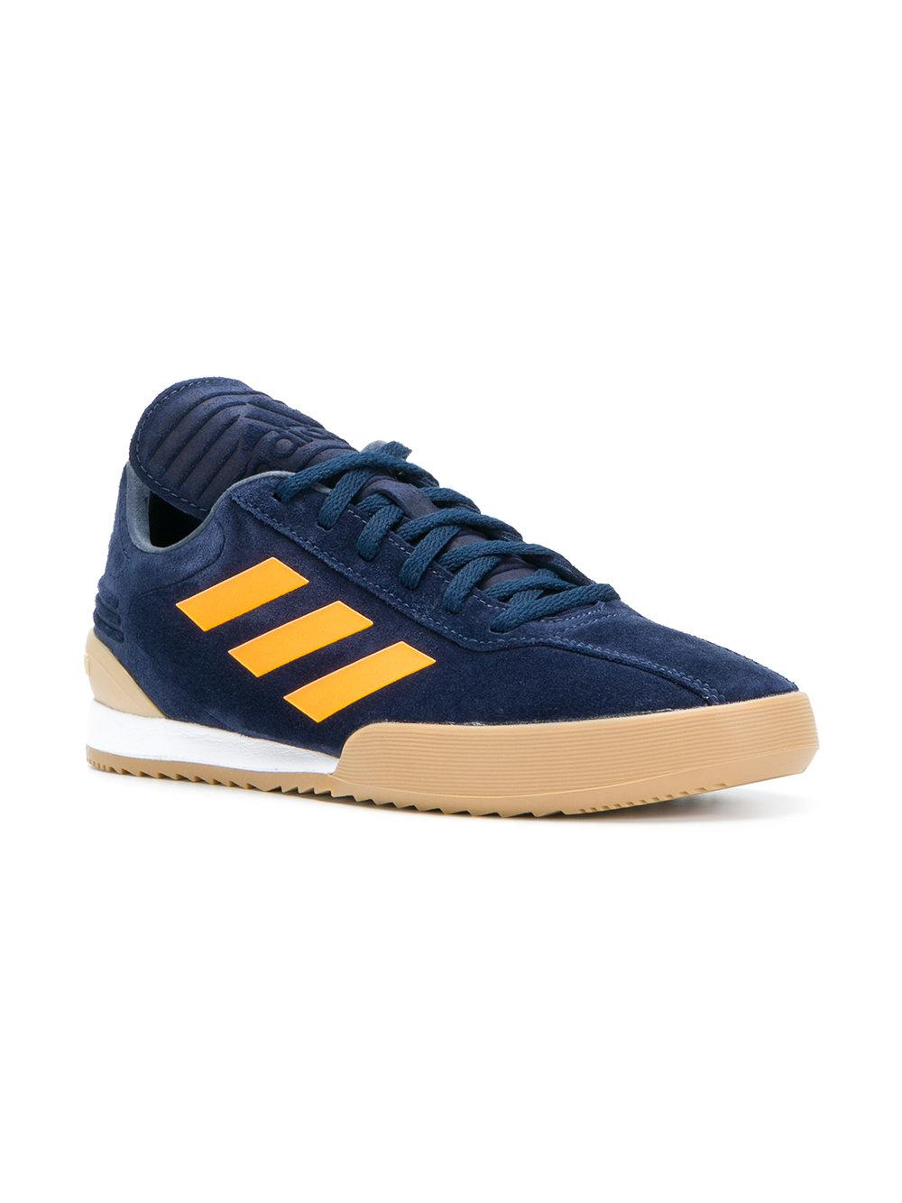 new arrival 9cae2 443bf Lyst - Gosha Rubchinskiy X Adidas Side Stripe Sneakers in Blue for Men -  Save 70%