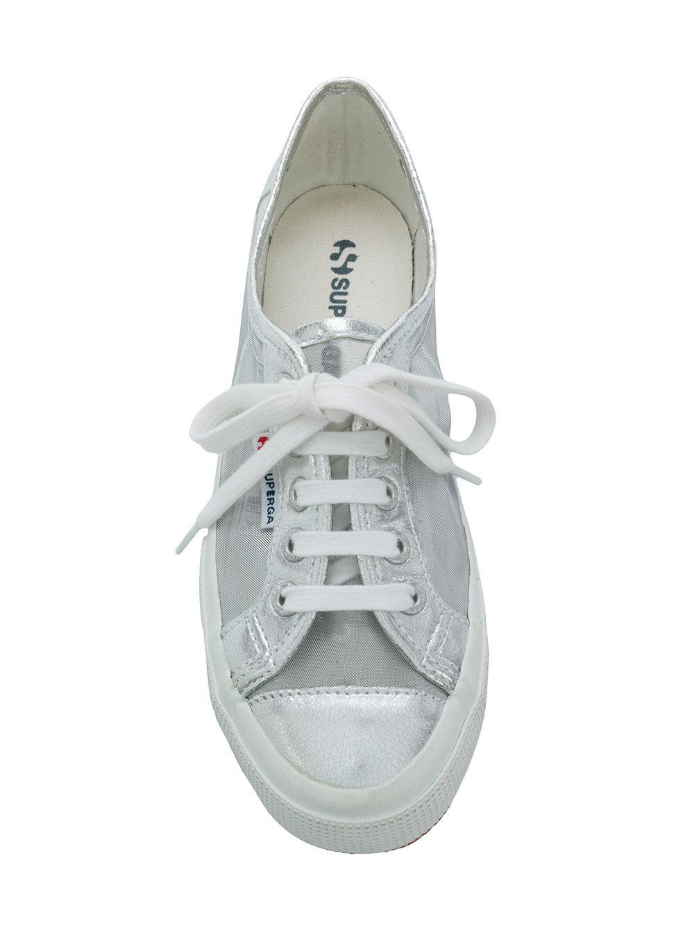 new product 70e10 a2352 superga-Grey-Sheer-Panel-Sneakers.jpeg