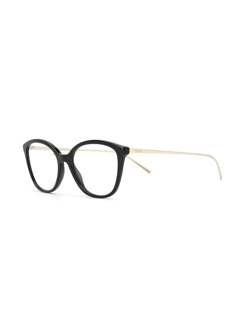 bea58ff95cc6 Lyst - Prada Square-frame Glasses in Black