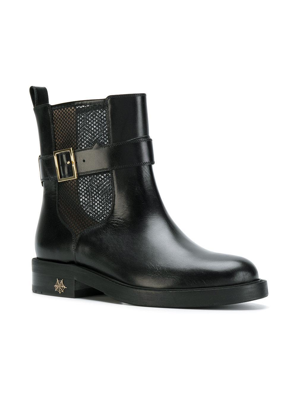 Charlotte Olympia Mesh insert boots byQd1Gnk