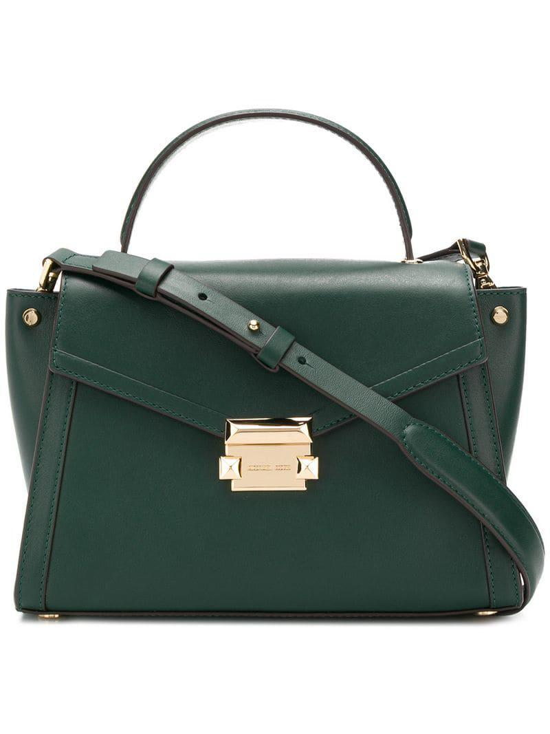 bbab6f76f93611 MICHAEL Michael Kors Whitney Tote Bag in Green - Save 3% - Lyst