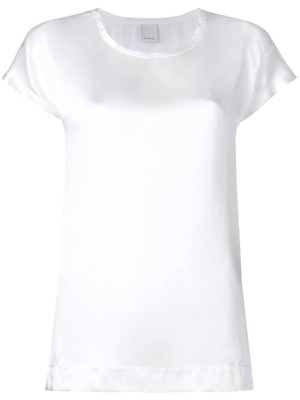 f2329d46518 Pinko - White Farisa Short Sleeve T-shirt - Lyst. View fullscreen