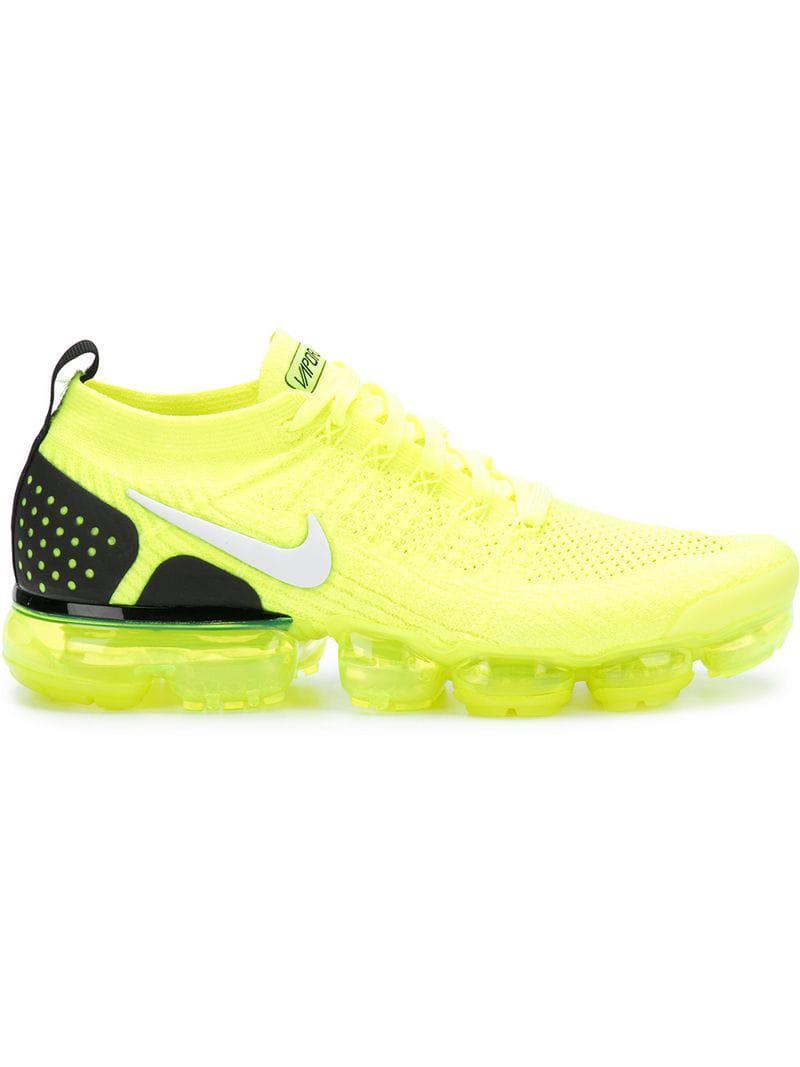 8e92557c359 Lyst - Nike Air Vapormax Flyknit 2 Runner Sneakers in Green for Men