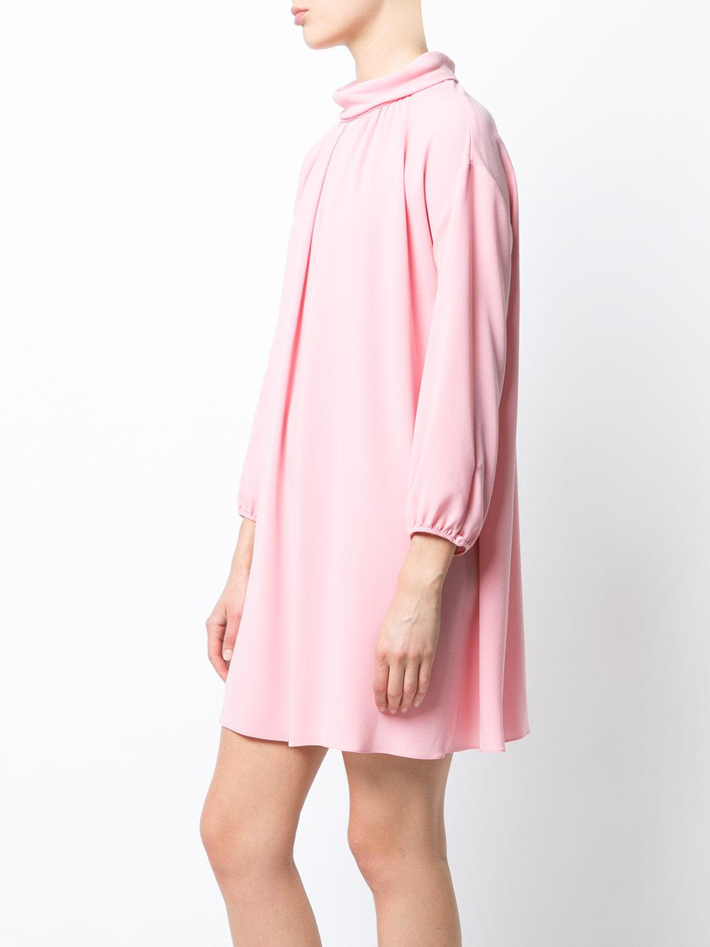 Boutique Moschino high collar dress Cheap Sale For Cheap Discount New Arrival Where To Buy Best Prices For Sale Marketable For Sale UO7lixN
