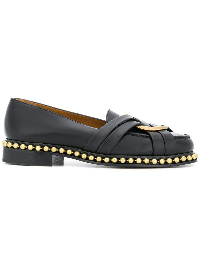 classic embellished loafers - Black Chlo Discount Limited Edition Manchester Buy Cheap The Cheapest Sale New Styles bpAMlJOHg5