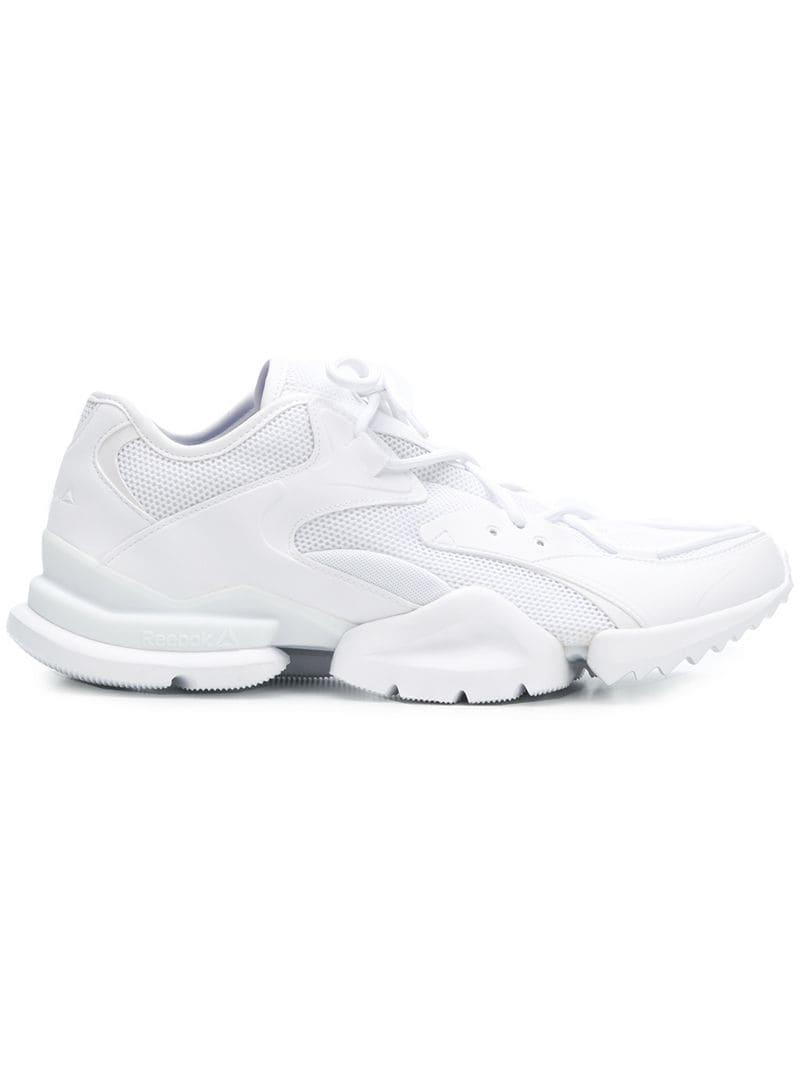 Reebok Run R 96 Sneakers in White for Men - Save 33% - Lyst aa5635a9d