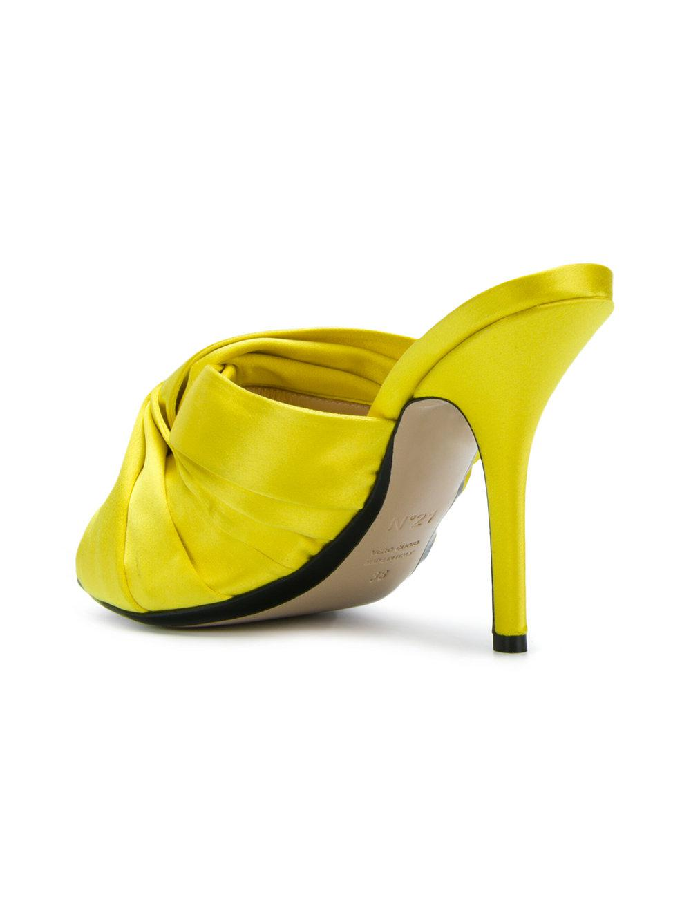 No21 Knotted stiletto mules fH35zQy