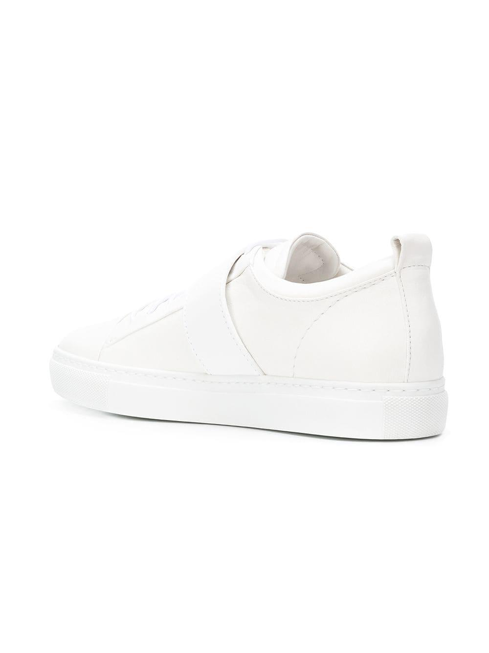 Lanvin Lyst In Sneakers White Buckle BCFx1