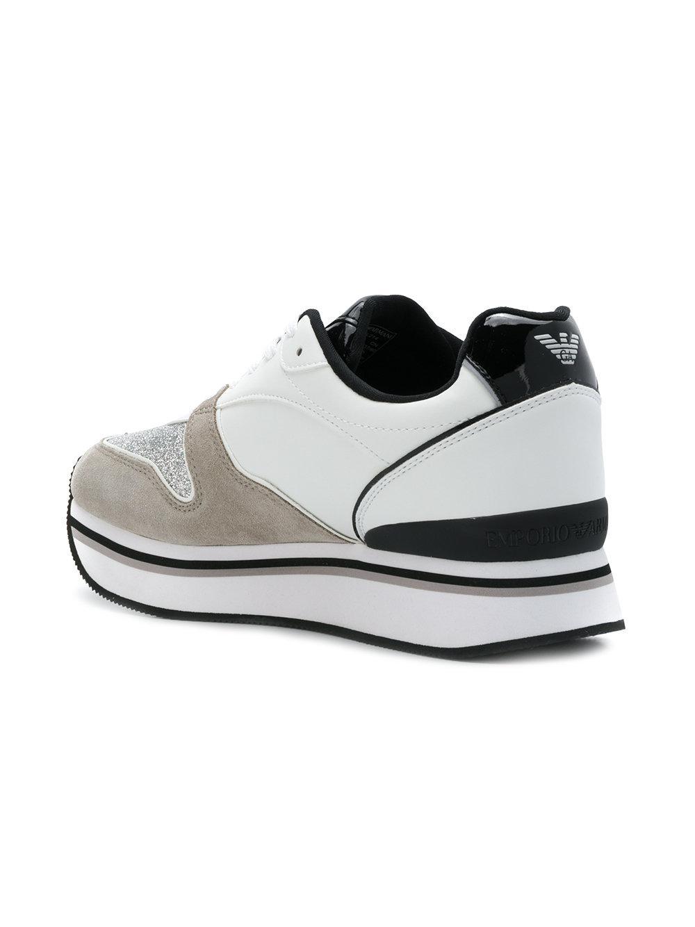 timeless design 0e551 1b965 emporio-armani-White-Platform-Runner-Sneakers.jpeg
