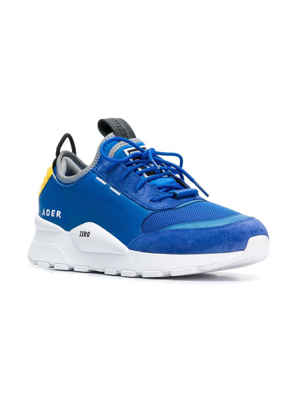 fe36b3d21dc499 ... Ader Error Leather Trainer Sneakers for Men - Lyst. View fullscreen