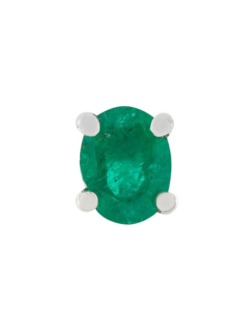 Sast Cheap Price Sale Authentic Wouters & Hendrix Gold emerald stud earring Buy Cheap Shopping Online Discount Explore 8YdJu