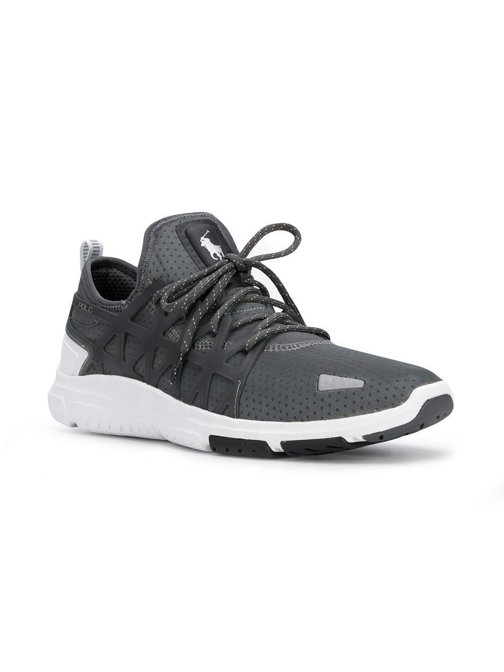 51fd258ac2212e Polo Ralph Lauren Performance Train 200 Trainers in Gray for Men - Lyst