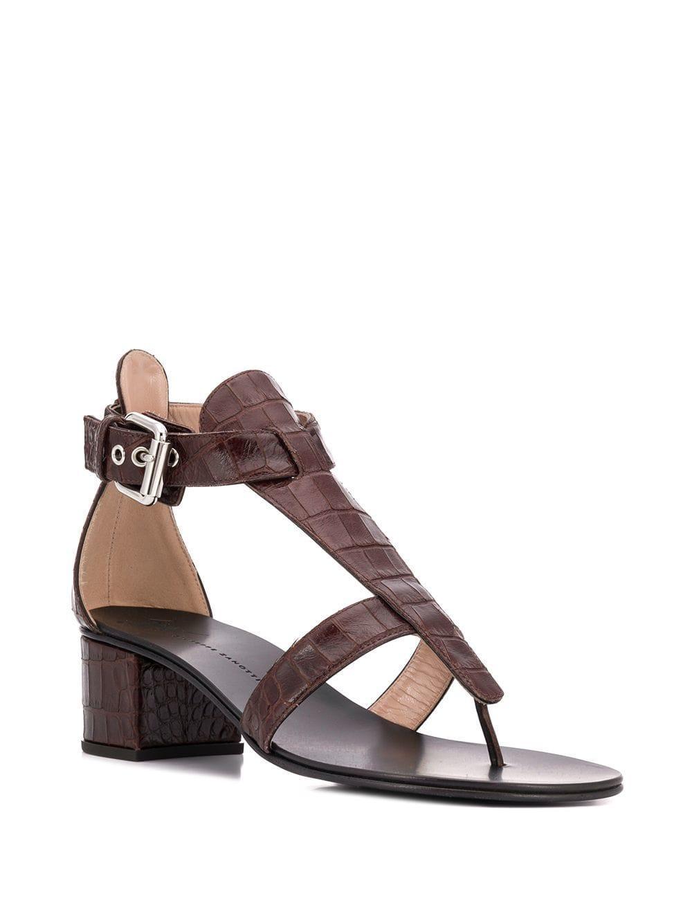 054a3222987 Giuseppe Zanotti - Brown Madie Sandals - Lyst. View fullscreen