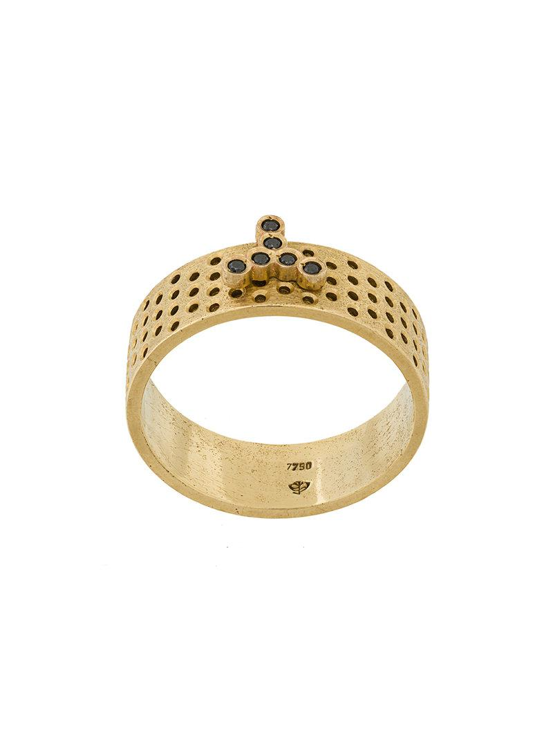 Savoir Joaillerie 14kt rose gold and diamond She Ring - Metallic Wgzbd