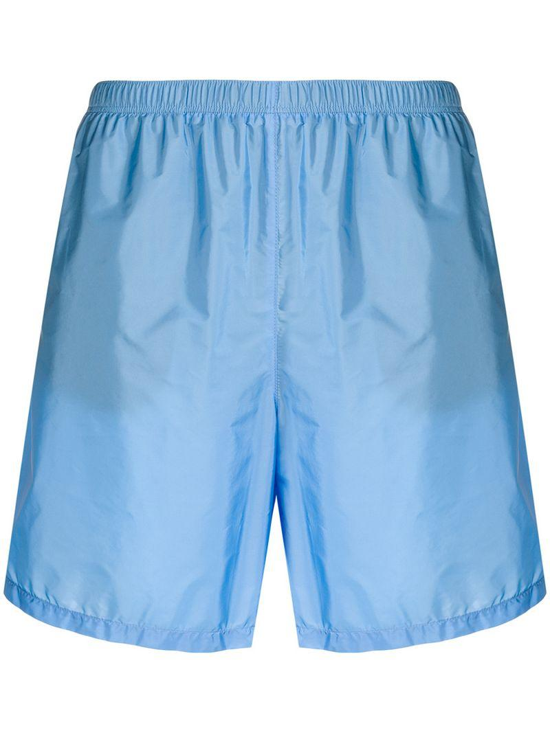 6949be202b Lyst - Prada Swim Shorts in Blue for Men