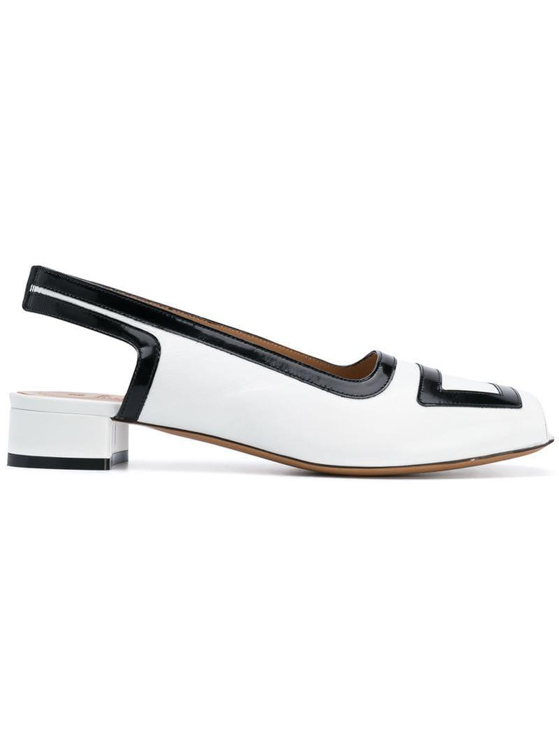 eb2cd88c8 Lyst - Marni Low-heel Pumps in White