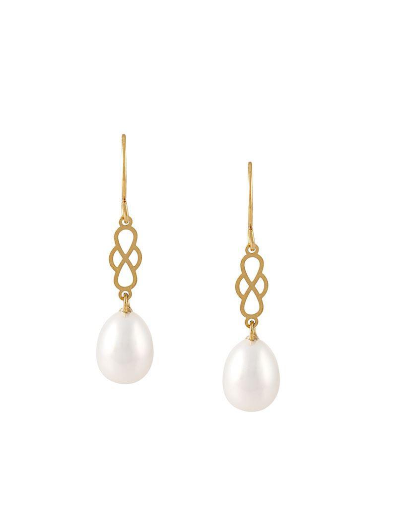 Wouters & Hendrix My Favourite freshwater pearl stud earrings - White cbqNN