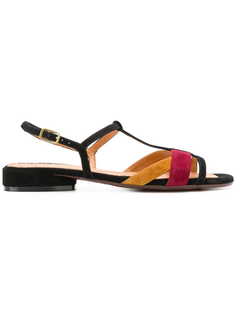 Sandales Bloc Couleur - Noir Chie Mihara Fnng1