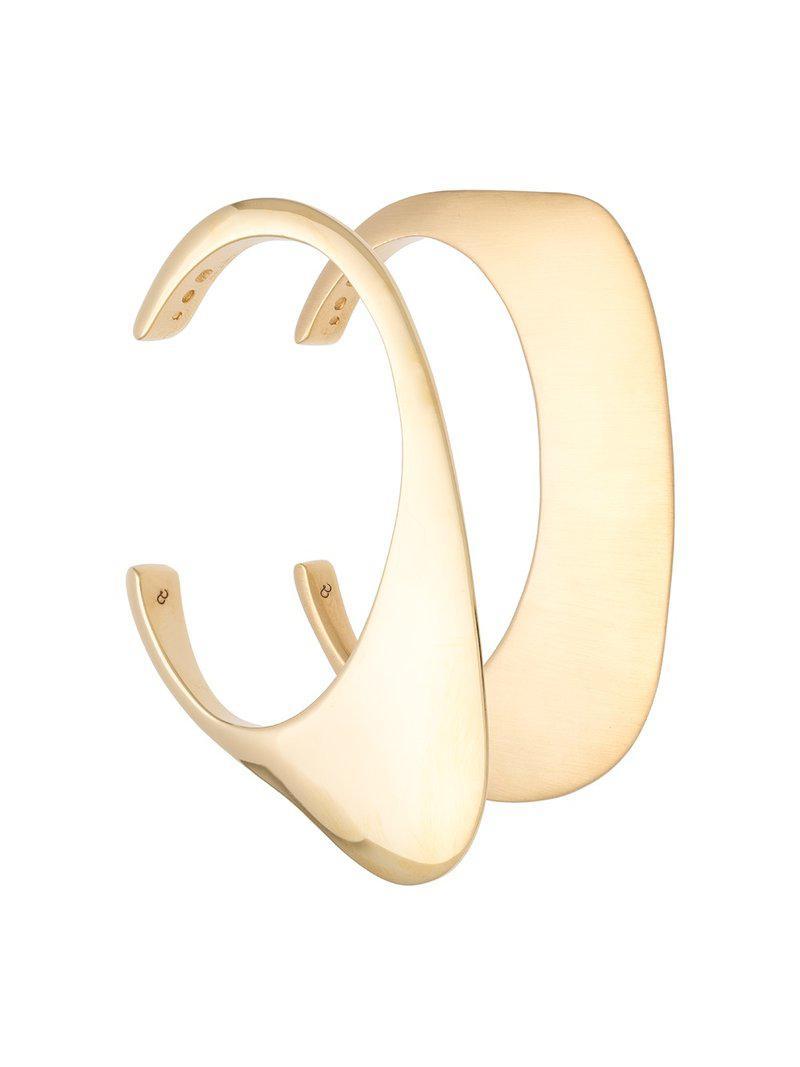 Charlotte Chesnais Ada set of bracelets - Metallic lg3H8FK