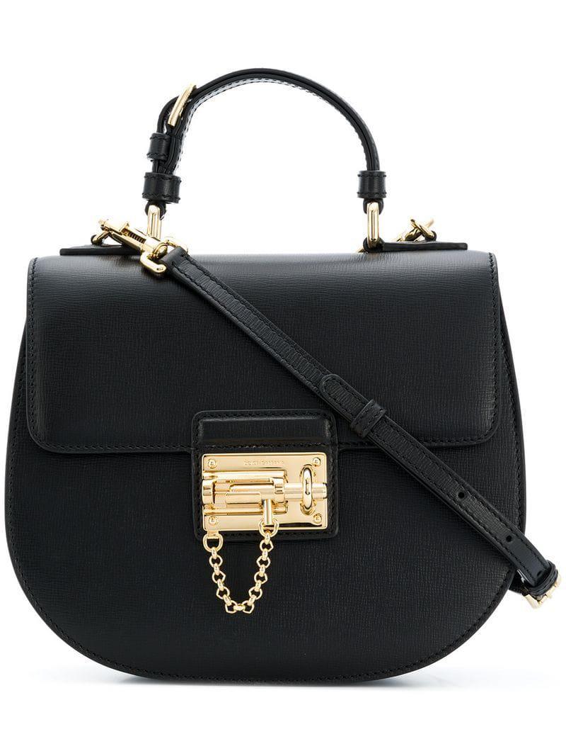 Dolce   Gabbana Top Handle Tote Bag in Black - Lyst 786549bd1e4c7