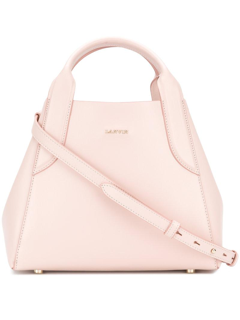 Cheap Sale Pay With Paypal With Paypal Online Cabas mini bag - Pink & Purple Lanvin Cheap Pay With Paypal Outlet New Styles Z9ytU