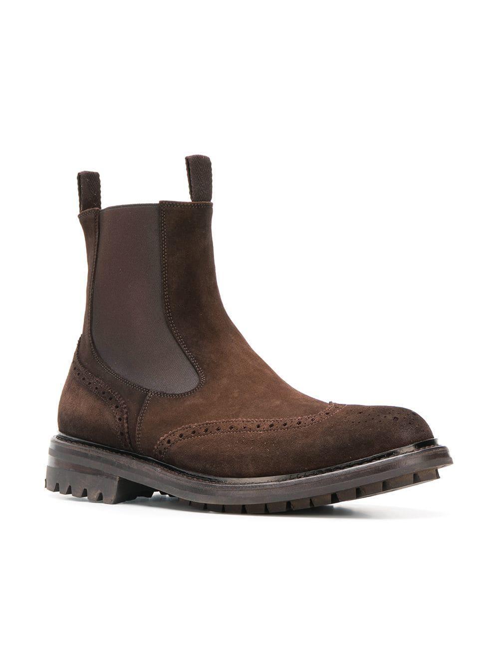 a386d45ea6de4 Lyst - Officine Creative Exeter Chelsea Boots in Brown for Men