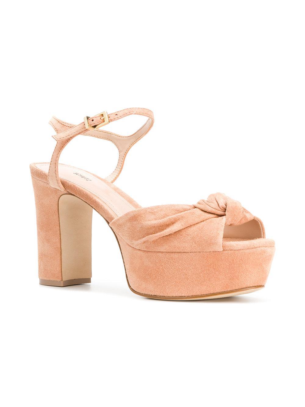 cheap sale outlet store Schutz slingback knot sandals cheap sale many kinds of jUiCvfSGbP