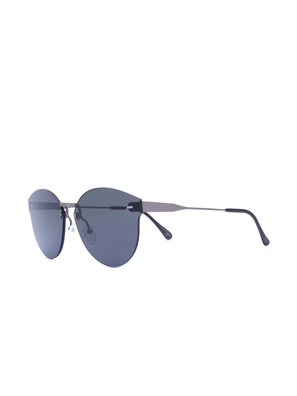 3de6637ebd8 Retrosuperfuture Frameless Sunglasses in Black - Lyst