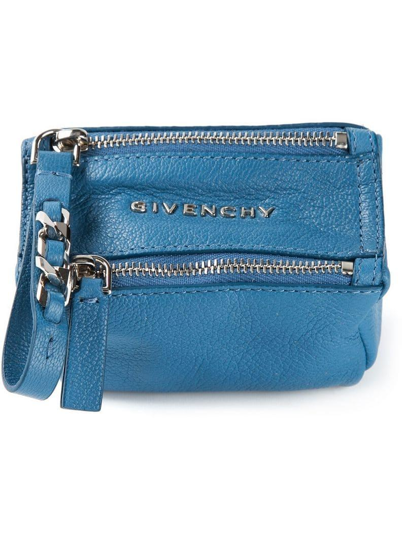 8295c3ae0aab Givenchy - Blue  pandora  Wallet - Lyst. View fullscreen