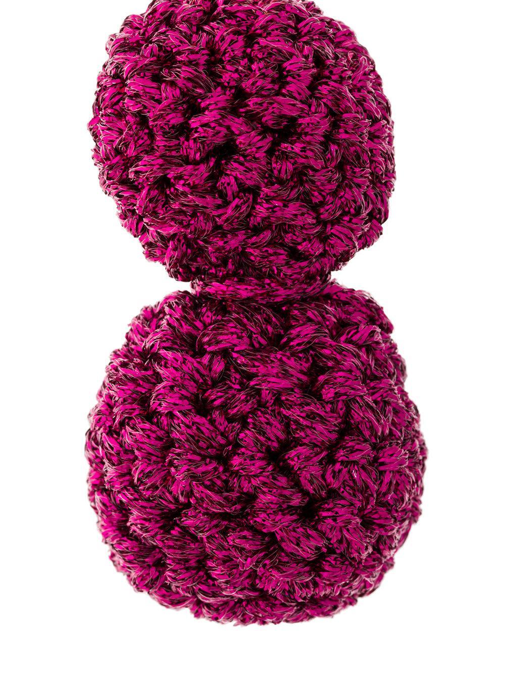 Lucy Folk Rock Formation earrings - Pink & Purple 3vCaYem