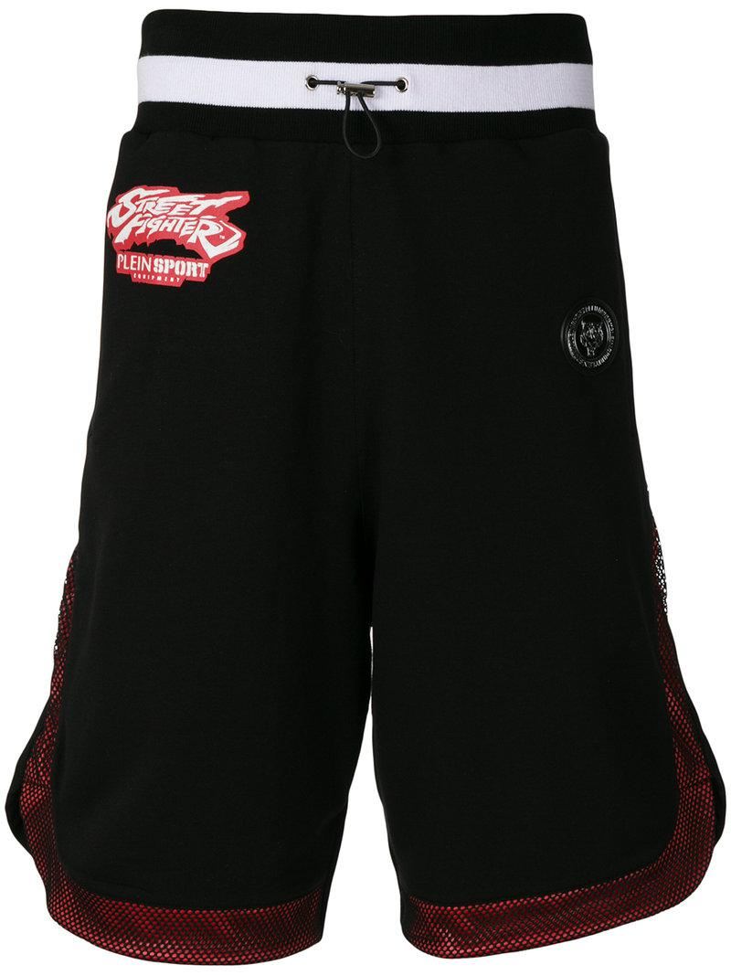 Philipp Plein side logo track shorts - Black Cheap Find Great Cheap Sale Get To Buy cCs5V