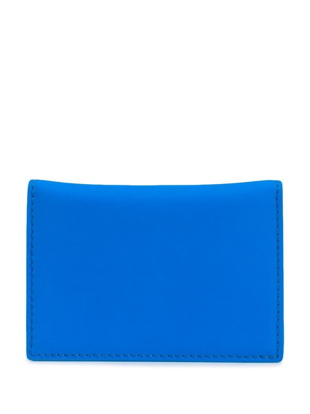 01d9f805a156 Lyst - Off-White c o Virgil Abloh Arrow Logo Cardholder in Blue