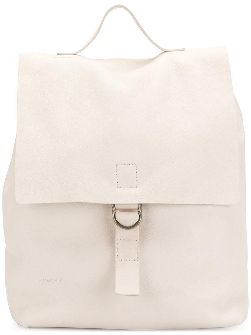 fold-over top bag - White Mars YlEhLBcwjm