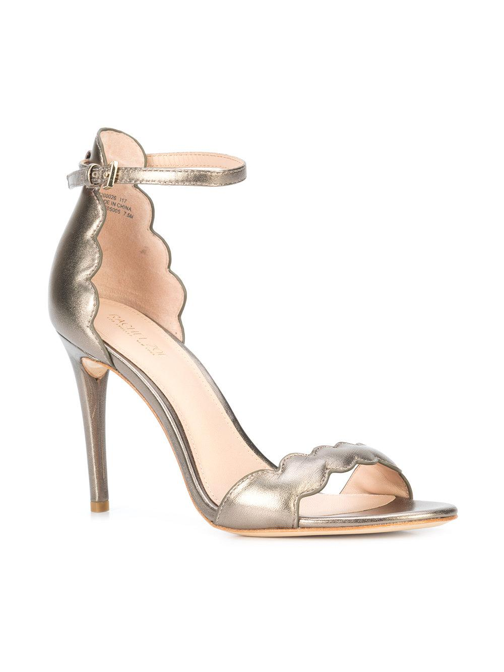 Rachel Zoe Scalloped open toe sandals Low Price Cheap Online AwCaC