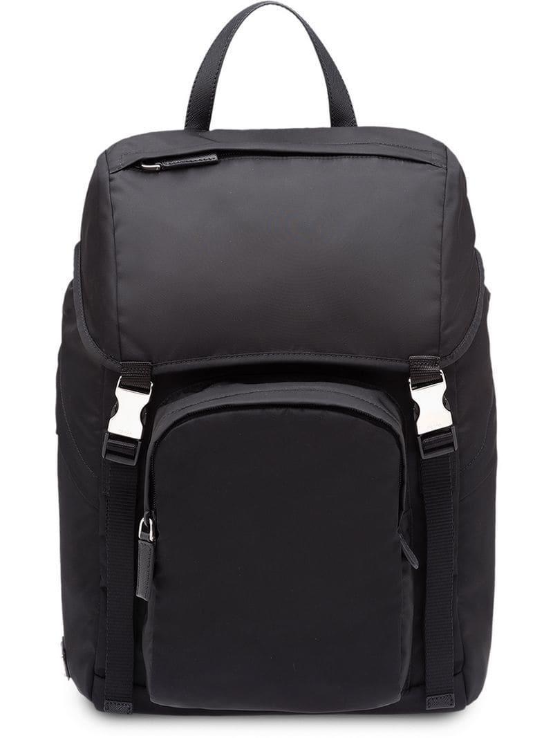 9a984bfe5914 Lyst - Prada Nylon Backpack in Black for Men