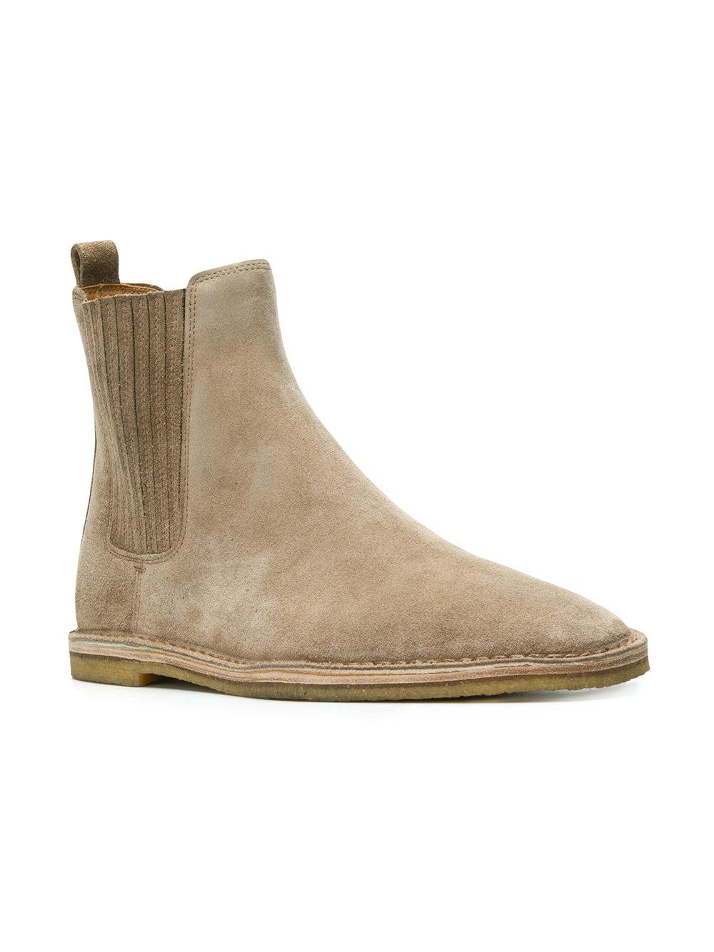 0bcbc84ee92 Saint Laurent Nino Chelsea Boots in Natural for Men - Lyst