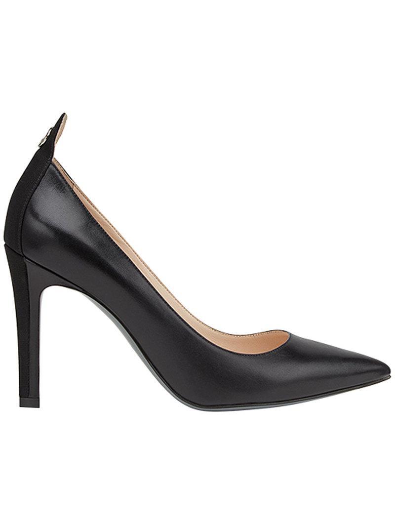 pointed ankle logo pumps - Black Fendi rAnigqRy