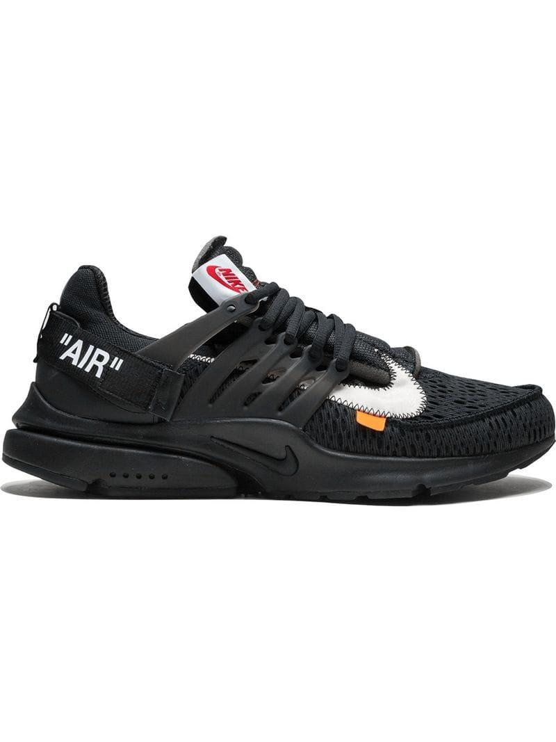 8a9408d1db72 Lyst - Nike The 10   Air Presto in Black for Men