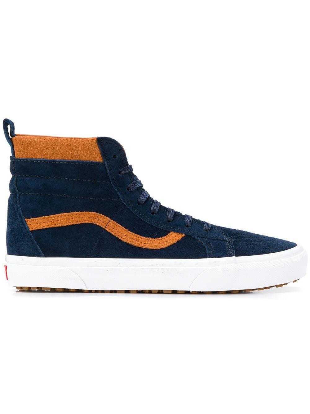 dfcd1969b009f0 Vans Sk8-hi Sneakers in Blue for Men - Lyst