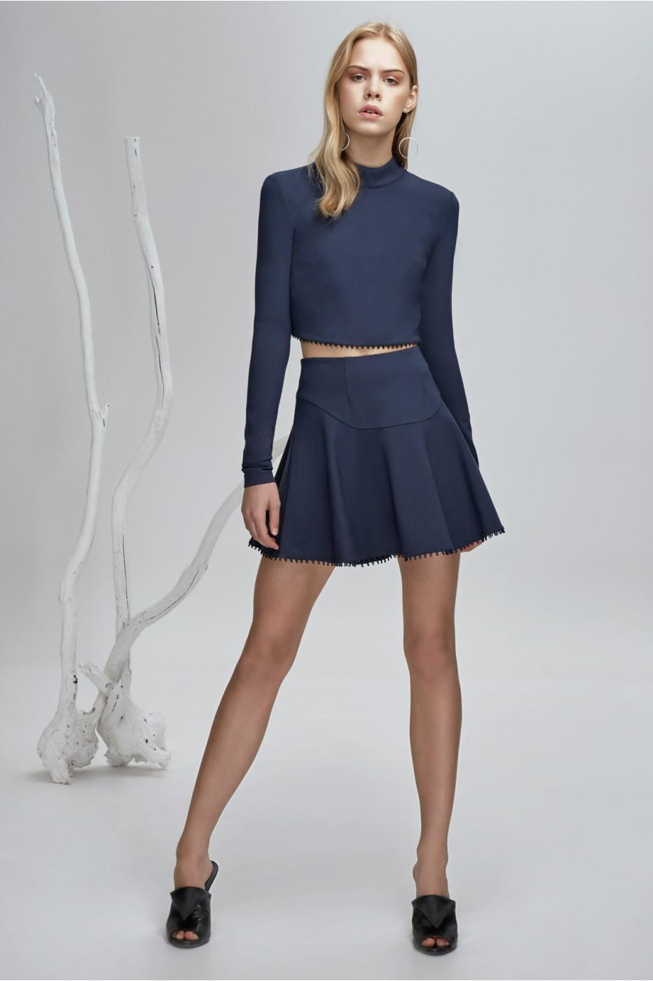 d8861d1146 Lyst - Finders Keepers Aspects Mini Skirt in Blue