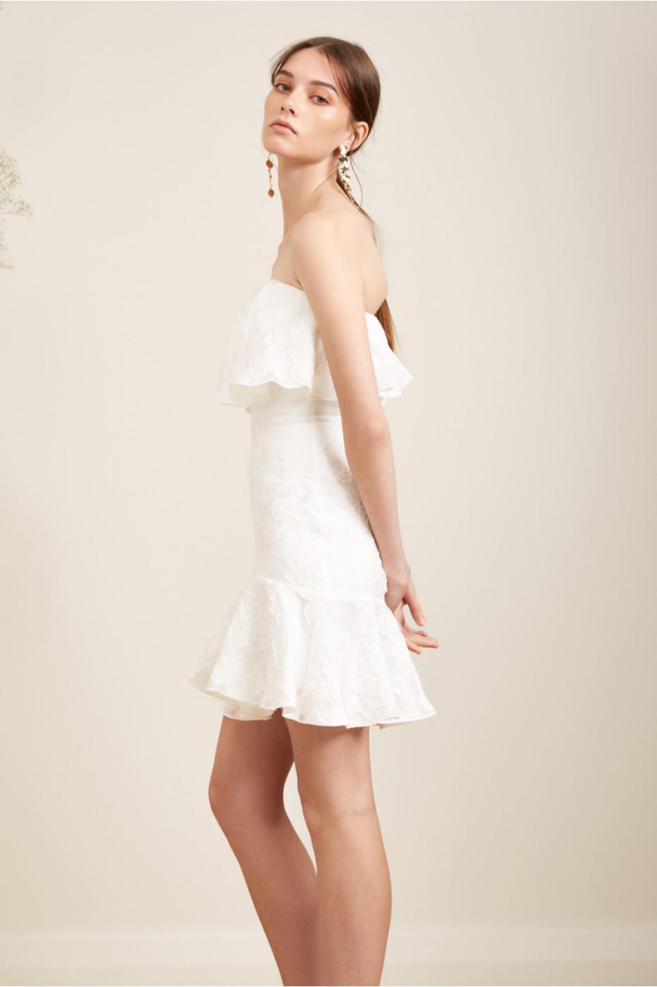 e77ce0330fc Keepsake Radar Mini Dress in White - Lyst