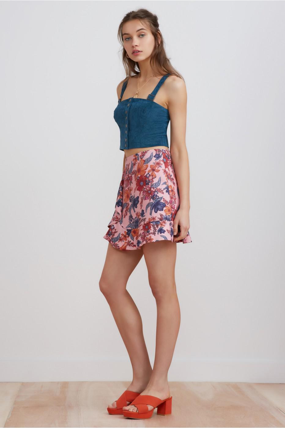 198dc6f863 Lyst - Finders Keepers Rhapsody Mini Skirt