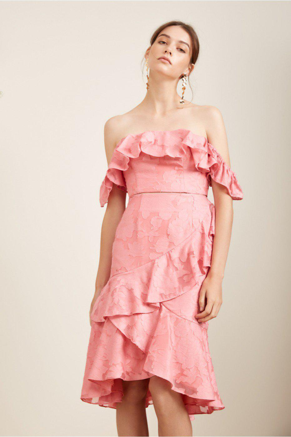 d9c7687211f Lyst - Keepsake Radar Skirt in Pink